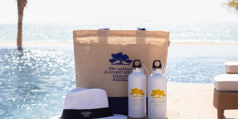 Al Baleed Resort Salalah by Anantara - Aluminum Reusable Bottles4