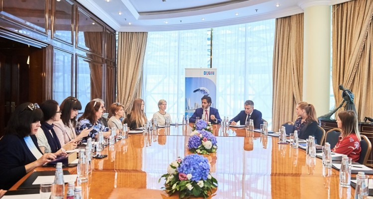 Issam Kazim, CEO DCTCM Visit to Russia - Media Roundtable