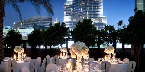 Address Boulevard' Pool _ Wedding