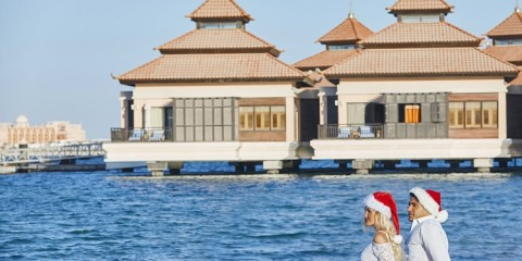 Anantara The Palm Dubai Resort_Festive_Couples on the beach