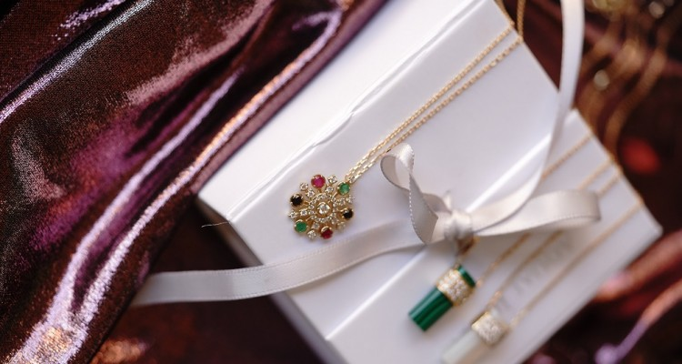 National Day Necklace 0.34 Carat Diamond AED2450 (3)