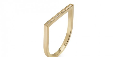 One line diamond ring_1100AED