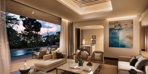 Anantara Desaru Coast Resort & Villas Residence living room