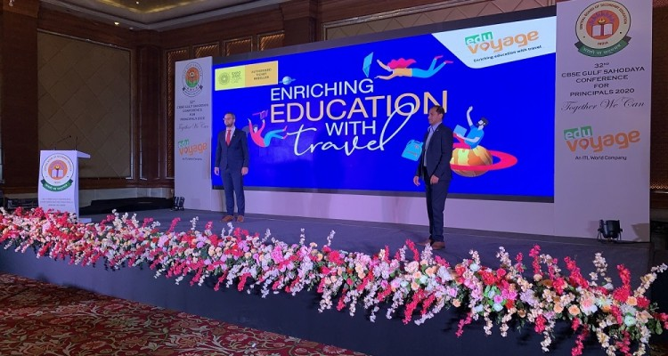 Expo 2020 and Eduvoyage on  stage