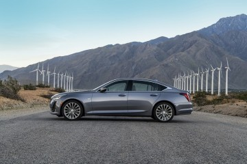 The 2020 CT5 provides a refined ride while maintaining the world