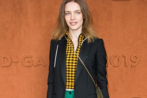 Natalia Vodianova - RL50 Bag at Roland Garros-