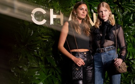 Chanel Dinner Celebrating Gabrielle Chanel Essence with Margot Robbie