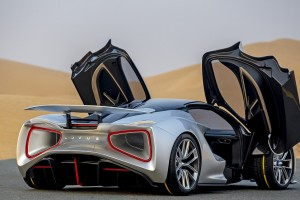 Image 1-Lotus Evija Middle East Debut
