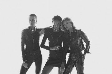 Kate Moss, Joan Smalls, Sylvia Hoeks for Messika by Mert & Marcus - collection Lucky Move