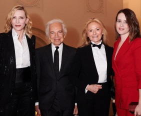Cate Blanchett, Ralph and Ricky Lauren, Claire Foy