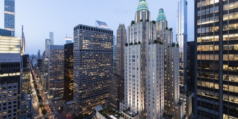 Waldorf Astoria - Exterior - Crown on Park Avenue